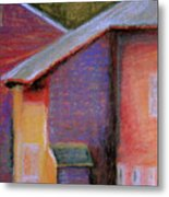 Colors And Shadows Metal Print by Dona Mara
