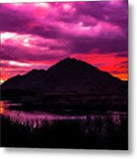 Colors At Dusk.... Metal Print