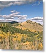 Colors In Colorado Metal Print