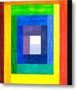 Colors Into One Metal Print