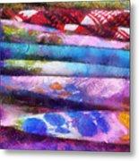 Colors Material Horizontal Pa 02 Metal Print