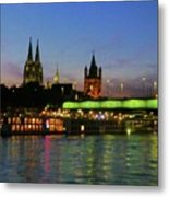 Colors Of Cologne Metal Print