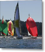 Colors Of Coupeville Metal Print