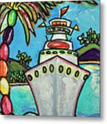Colors Of Cruising Metal Print