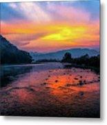 Colors Of Dawn Metal Print
