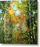 Colors Of Early Fall  Metal Print