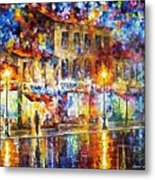 Colors Of Emotions - Palette Knife Oil Painting On Canvas By Leonid Afremov Metal Print
