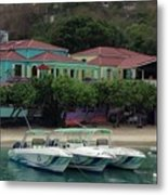 Colors Of St. John Us Virgin Islands Metal Print