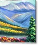 Colors Of The Mountains 2 Metal Print