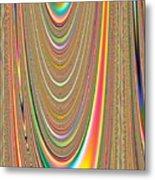 Colors Of The Orbs Metal Print