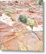 Colors Of Wash 3 In Valley Of Fire Metal Print