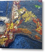 Colors On Rock II Metal Print