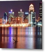 Colors On The Louisville Riverfront Metal Print
