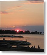 Colors On The Water Metal Print