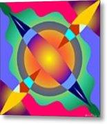 Colorscape 1-5 Metal Print
