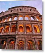 Colosseum - Coliseu Metal Print