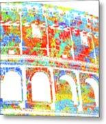 Colosseum - Colorsplash Metal Print