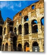 Colosseum In Rome Italy Metal Print