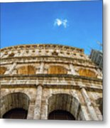 Colosseum Perspective Metal Print