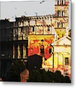 Colosseum Rome Metal Print