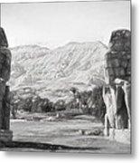 Colossi Of Memnon 2 Metal Print