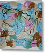 Colour And Shapes No 3 Metal Print