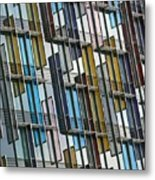 Colour Collage Metal Print