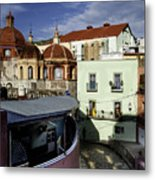 Colour Of The Streets Metal Print
