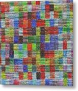 Colour Square 2 Metal Print