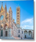 Colourful Siena Cathedral Metal Print