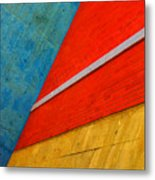 Colours And Shapes Metal Print