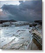 Colours Of A Storm - Seascape Metal Print