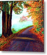 Colours Of Autumn Metal Print