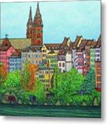 Basel, Colours of Basel Metal Print