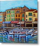 Colours Of Cassis Metal Print