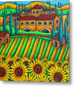 Colours Of Tuscany Metal Print