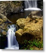 Columba River Gorge Falls 2 Metal Print