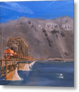 Columbia Crossing Metal Print