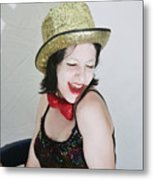 Columbia During A Rhps Performance Metal Print