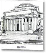 Columbia Metal Print by Frederic Kohli