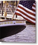 Columbia From The Stern Metal Print
