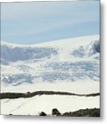 Columbia Icefields Metal Print