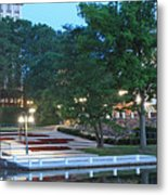 Columbia Lakefront Panorama Metal Print