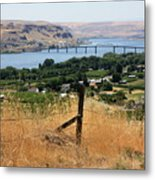 Columbia River - Biggs And Maryhill State Park Metal Print