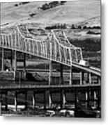 Columbia River Crossing Metal Print