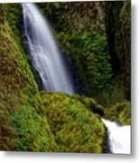 Columbia River Gorge Falls 1 Metal Print