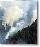 Columbia River Gorge Wildfire 2017 Metal Print