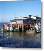 Columbia River Port Metal Print
