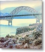Columbia River Vantage Bridge Metal Print
