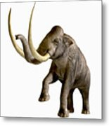 Columbian Mammoth Metal Print